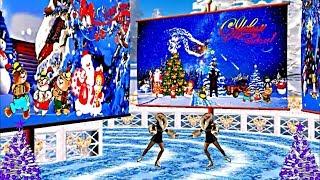 С Новым Годом!!! Новогодние танцы на льду!!! Happy New Year!!! New year's ice dancing!!!