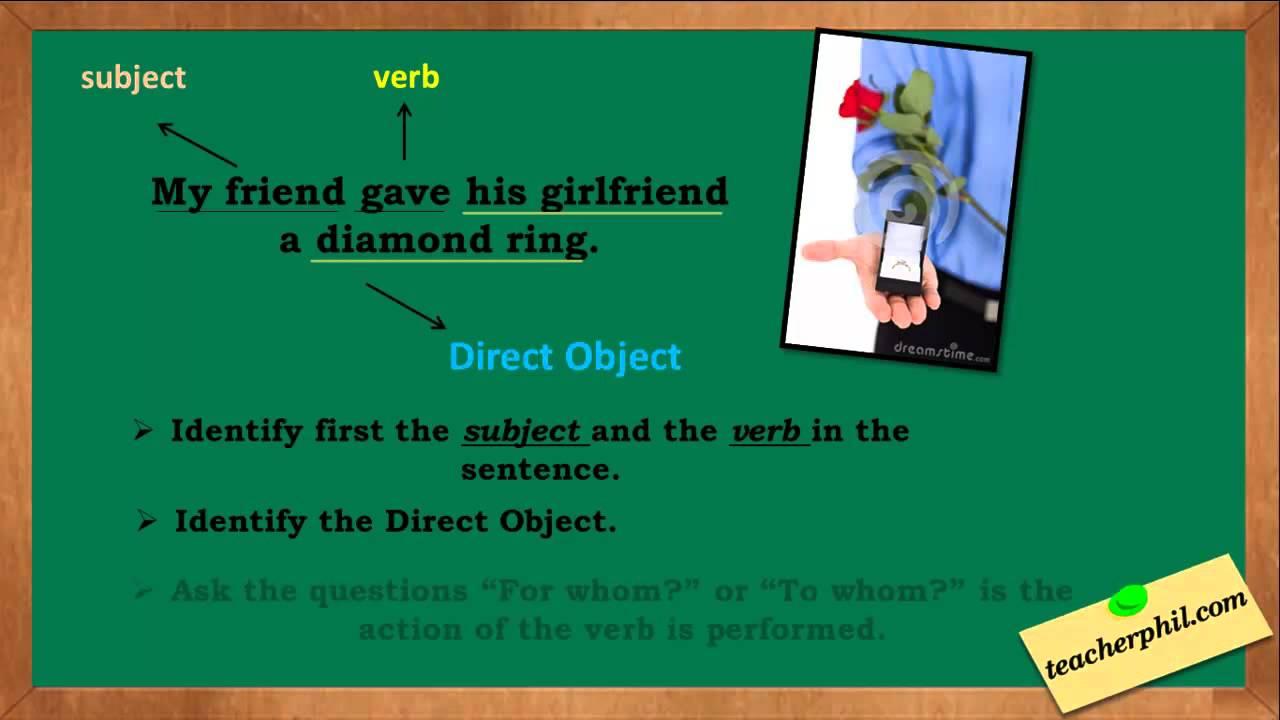 hight resolution of Direct and Indirect Objects - YouTube