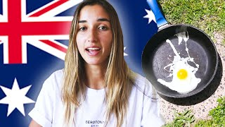 ONLY IN AUSTRALIA 🇦🇺// I COOKED AN EGG ON THE ROAD