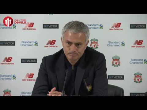 Jose Mourinho: Liverpool 'The Last Wonder of the World?' | Manchester United Presser