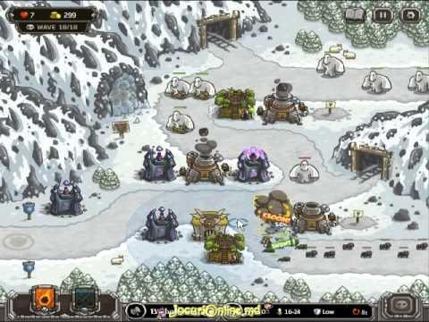 Kingdom Rush Game Walkthrough Level 8-9 |