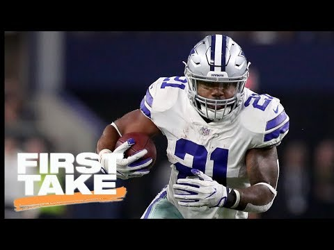 Stephen A. Smith picks a side in Ezekiel Elliott suspension | First Take | ESPN