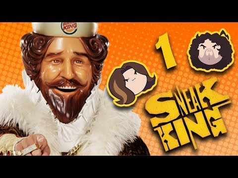 Sneak King: Cool Burgers - PART 1 - Game Grumps