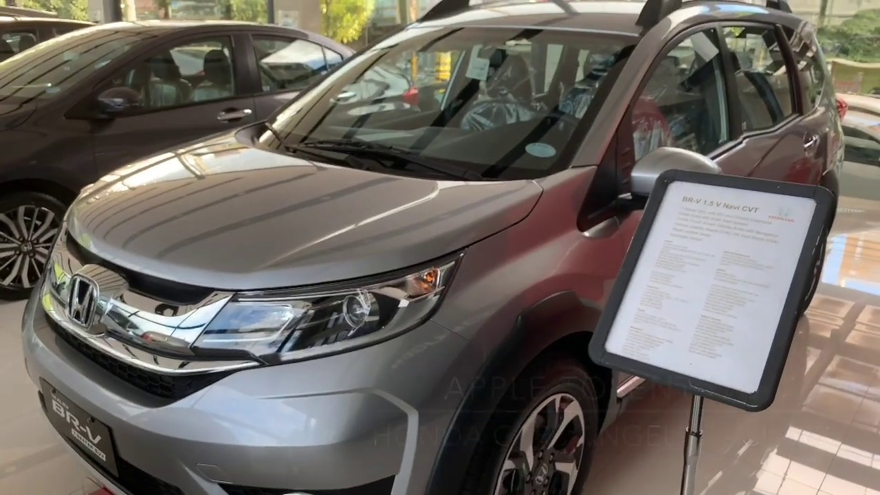 2019 Honda Brv 15 V Navi Cvt Philippines Youtube