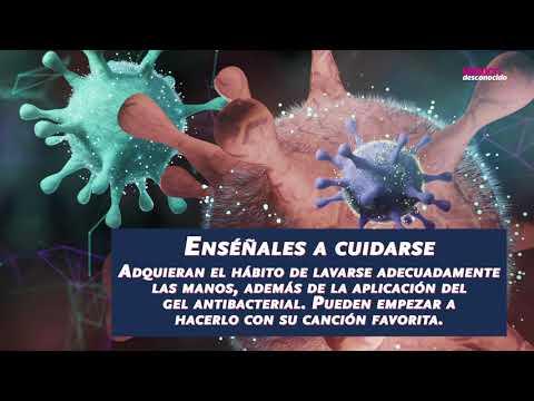 Como explicarle a los niños sobre el Coronavirus