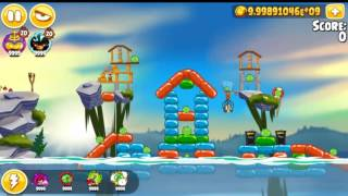 Angry Birds Seasons Summer Camp All levels