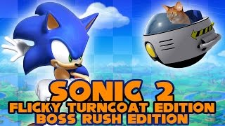 Sonic 2 Flicky Turncoat Edition Boss Rush Edition - Walkthrough