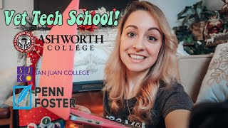 All About Vet Tech School! Where to go & cost!