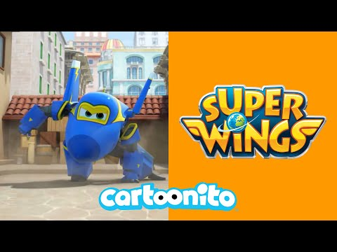 Super Wings | The Missing Costume | Cartoonito UK