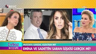 Magazin gündemini fena karıştıracak ''Emina ve Sadettin Saran aşk yaşıyor'' iddiası