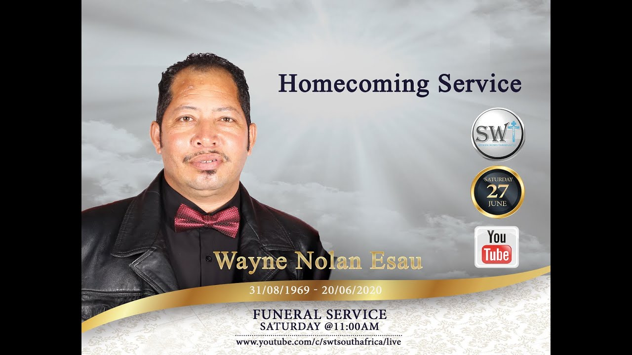 "270624: ""Bro Wayne Esau funeral "" [Pst. Brian Naidoo ]"