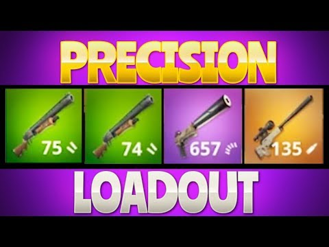 PRECISION LOADOUT  (Fortnite Battle Royale)