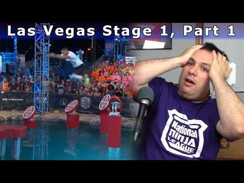 Las Vegas Stage 1, Part 1 - American Ninja Warrior 9 Review