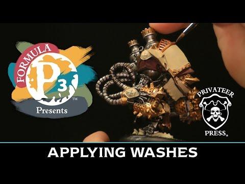 Formula P3 Presents: Applying Washes