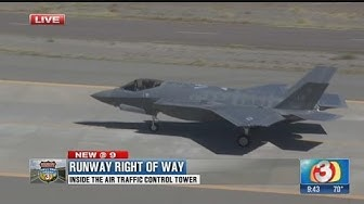 Runway right of way: Inside the air traffic control tower