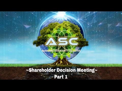 Tribe of Awakening Sovereignty- ASC Shareholder Decision Meeting Part 1 2/18/17