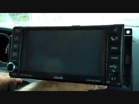 Dodge Grand Caravan & Chrysler Town And Country Stereo Removal