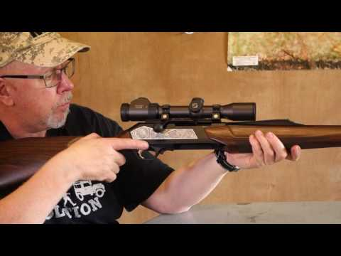 Browning Maral Straight Pull Rifle