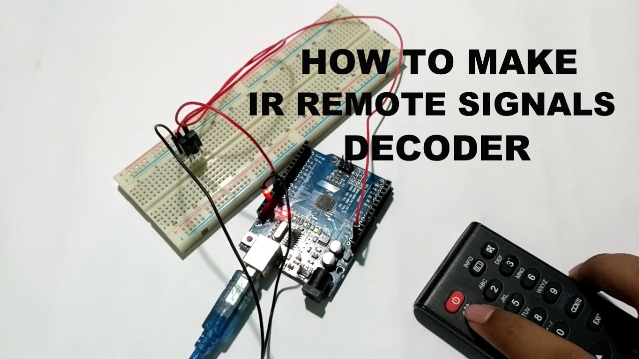 How to Decode IR Remote Control Signals