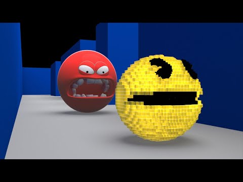 Pacman Vs Red Pacman