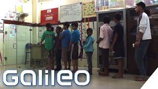 Die Bank der Kinder | Galileo | ProSieben