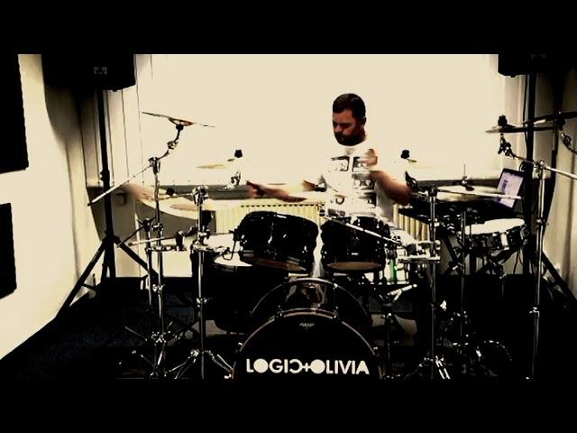 Logic & Olivia in your room DM Cover rehearsal Cam Kalle