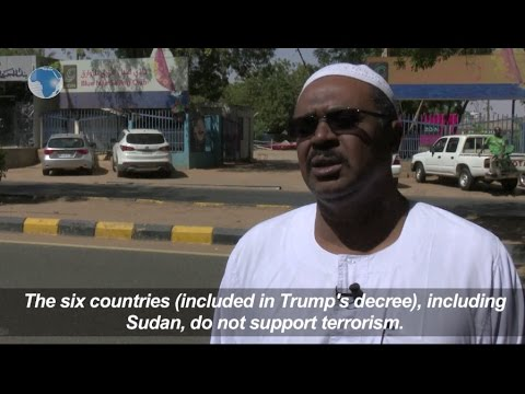 Sudanese react to US control on travelers from Muslim countries