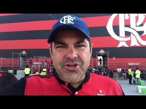Homenagem e vitória do Flamengo para Seu Expedito! Flamengo 2x0 Sport - Campeonato Brasileiro 2017!