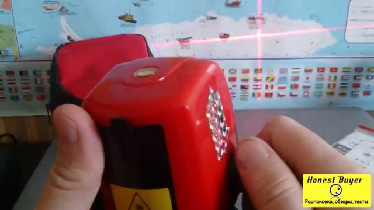 Обзор отличного лазерного уровня из Китая за 20$ - YouTube