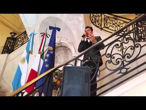 """""""ITALIA PATRIA MIA"""": L'INNO DEGLI ITALIANI NEL MONDO Canta Giuseppe Gambi"""