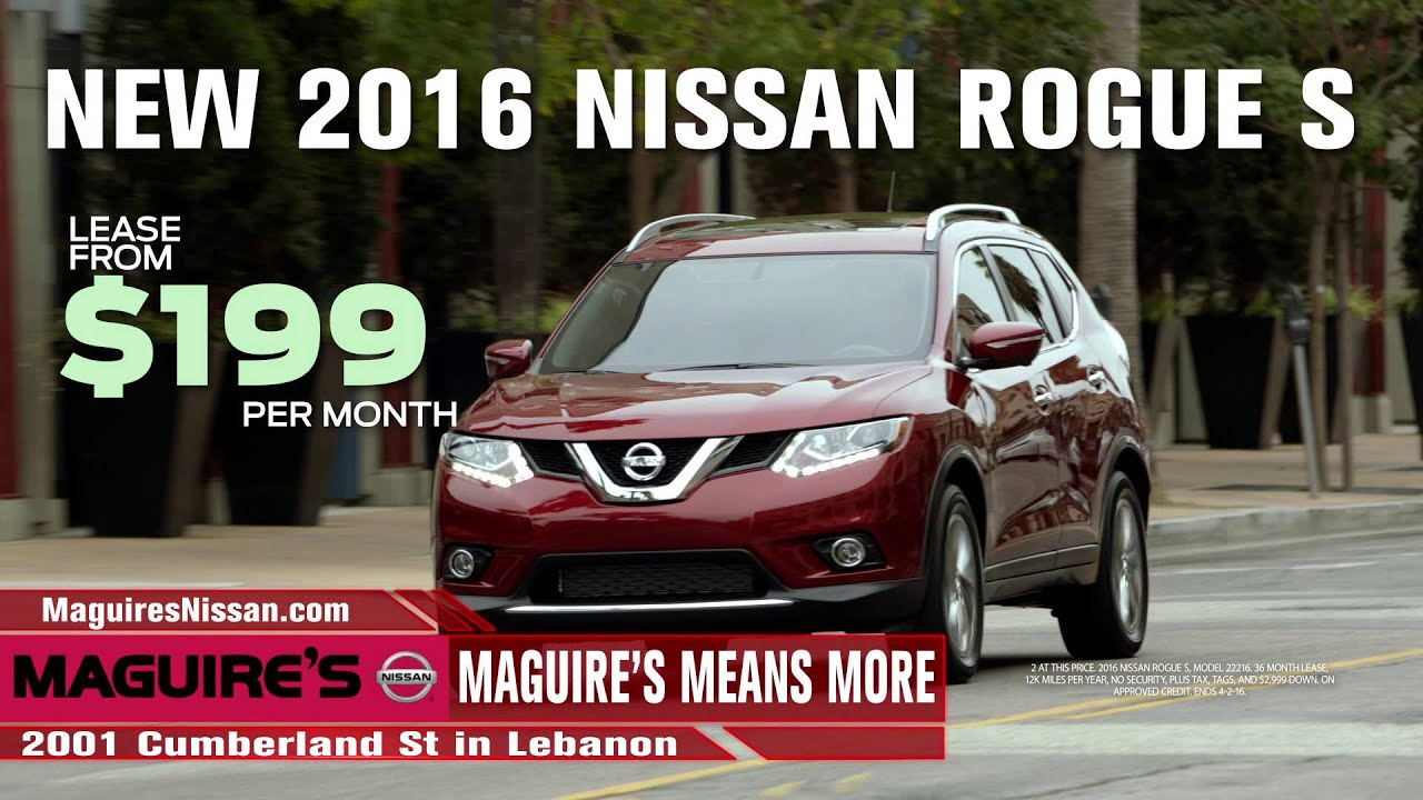 Maguires Nissan March TV - YouTube