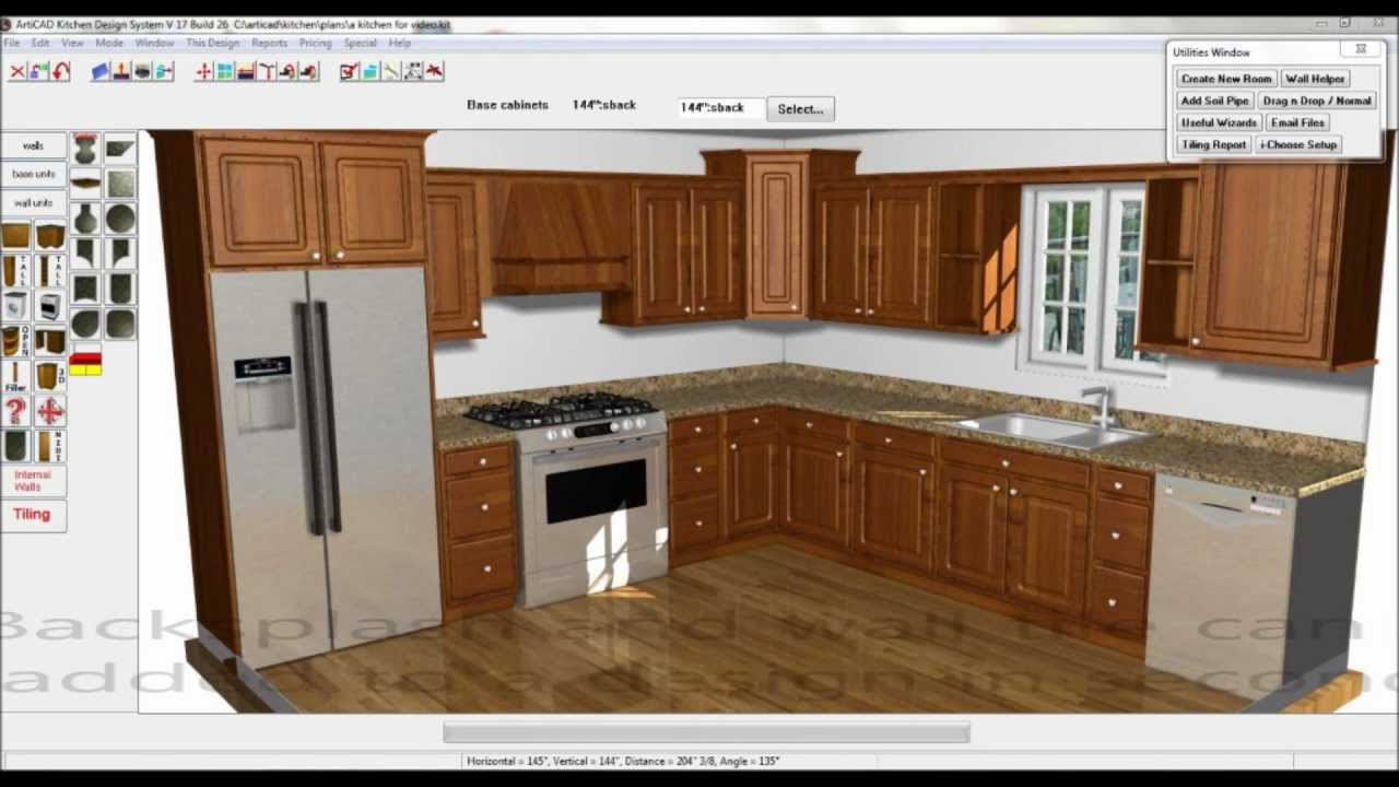 Articad Kitchen Design Advantages Youtube