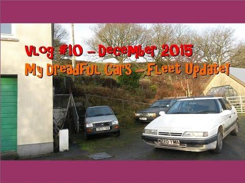 Vlog #10 Fleet update! Volvo 740, Citroen XM and Dyane, Perodua Nippa.