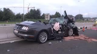 ongeval E40 Jabbeke KW