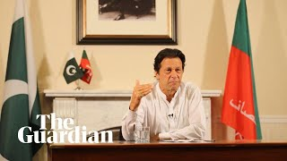 Imran Khan addresses vote rigging allegations in Pakistan election victory