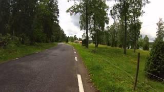 Sweden motorcycle tour - June 2013 - CBR 600 & Scrambler - HD GoPro Hero 3 - Rudimental track