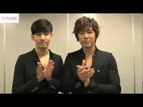 [CrazyLoveTVXQ] Seven Eleven x A-nation - Tohoshinki Mensagem