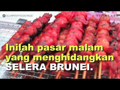 Vlog: Pasar Malam Gadong, Brunei