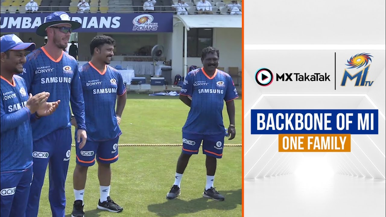 To the Backbone of our One Family | टीम का सहारा | Mumbai Indians