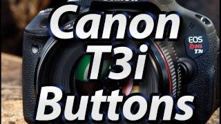 Canon T3i - External Buttons Tutorial | Training Video Lessons | Manual(This specific lesson covers the external controls of the Canon T3i and is just one of many from my new