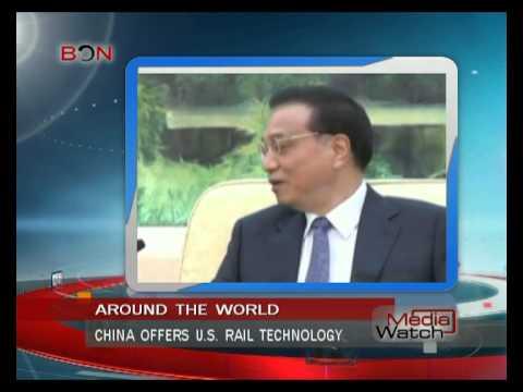 China offers U.S. rail technology- Aug. 18th.,2014 - BONTV China