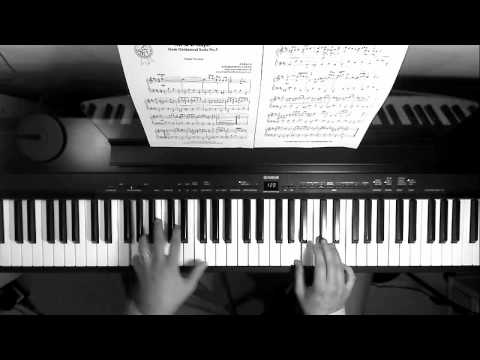 J S Bach: Air on the G String piano