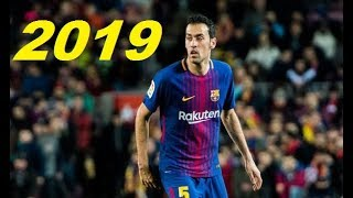 Sergio Busquets 2019 ● The King of Midfield ● Best Dribbling