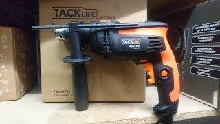 Review: Tacklife Taladro 710W Empuñadura Giratoria 12 Brocas