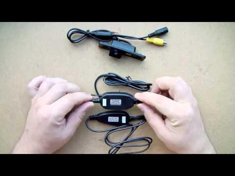 Беспроводная Камера Заднего Хода с Wi Fi  Микрофон для Автомагнитолы