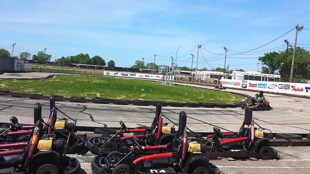 Go Karts Cleveland >> Cleveland Airport Gokarts Youtube