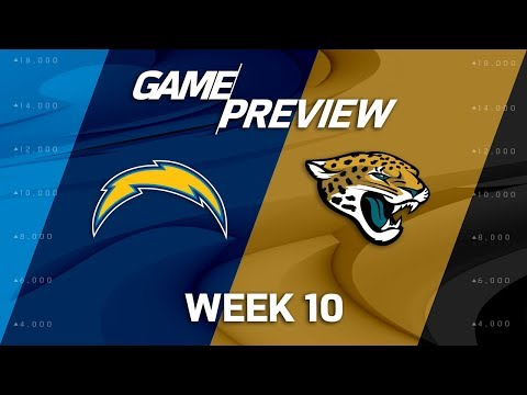 Los Angeles Chargers vs. Jacksonville Jaguars | NFL Week 10 Game Preview | Move the Sticks