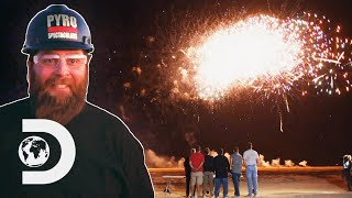 How To Design And Set-Up A Fireworks Show | The Explosion Show