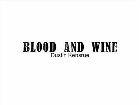 Dustin Kensrue Blood and Wine Chord Chart - YouTube