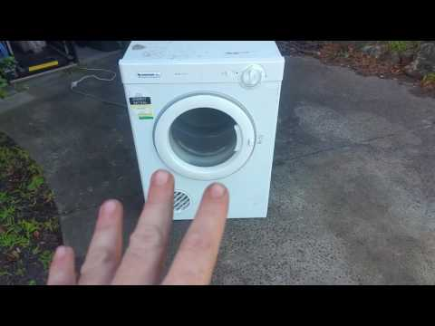 Garage Sale Finds - Tumble Dryer